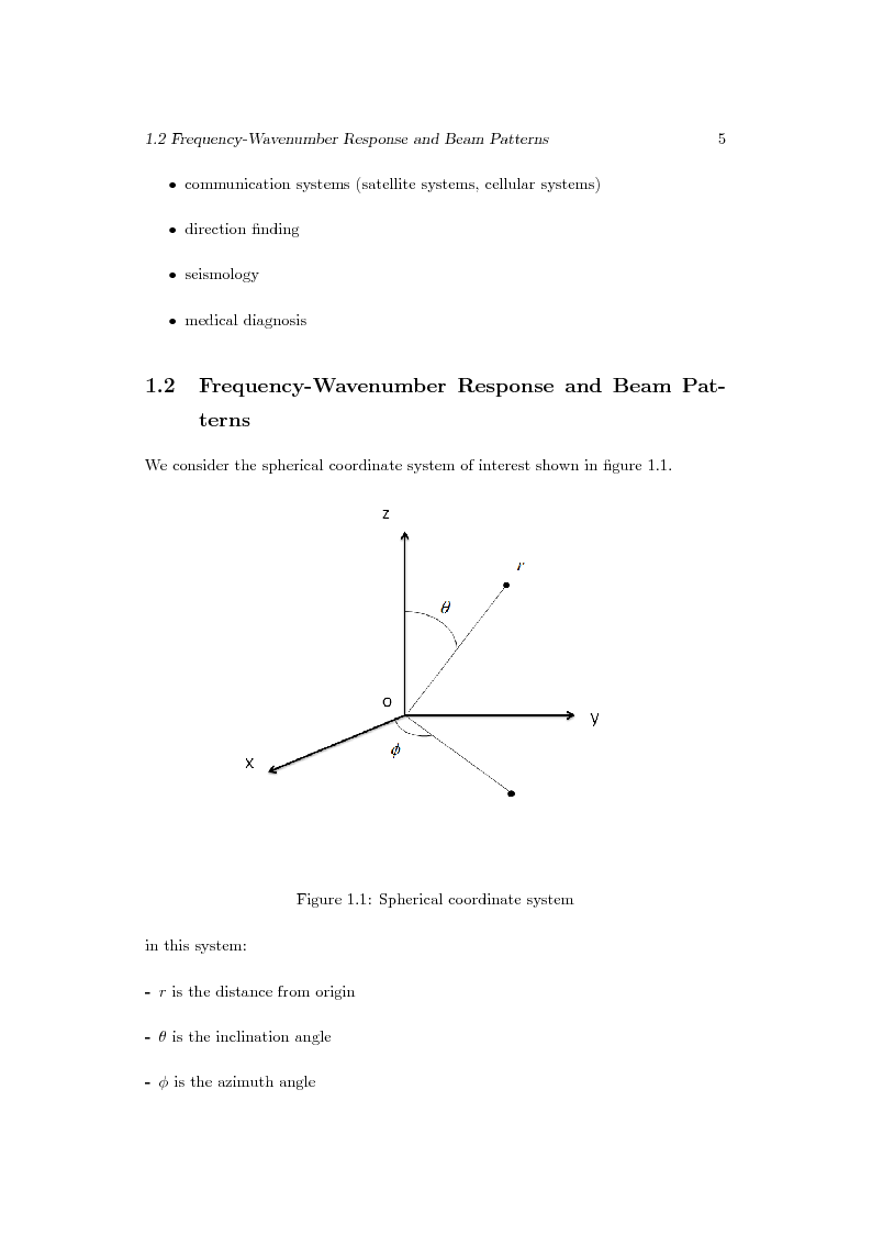 Anteprima della tesi: Distributed Beamforming Phase Synchronization Algorithms with multiple spatial constraints, Pagina 4