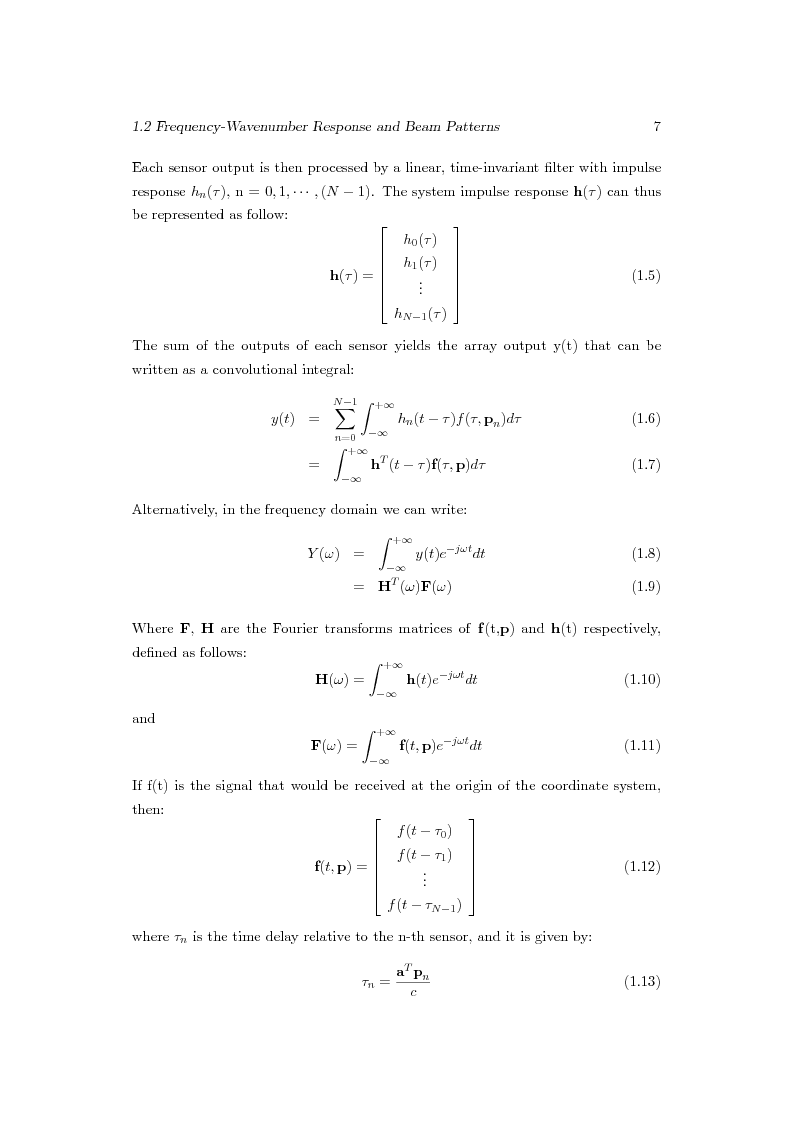 Anteprima della tesi: Distributed Beamforming Phase Synchronization Algorithms with multiple spatial constraints, Pagina 6