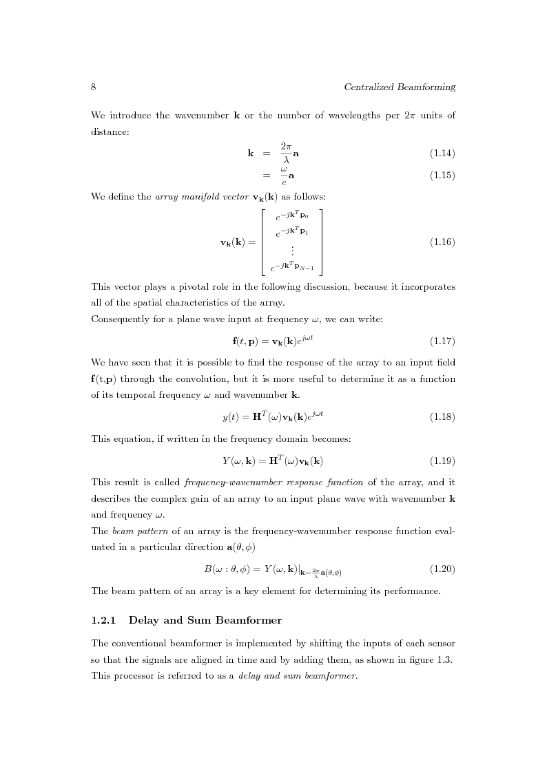 Anteprima della tesi: Distributed Beamforming Phase Synchronization Algorithms with multiple spatial constraints, Pagina 7
