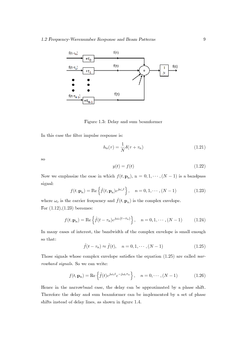 Anteprima della tesi: Distributed Beamforming Phase Synchronization Algorithms with multiple spatial constraints, Pagina 8