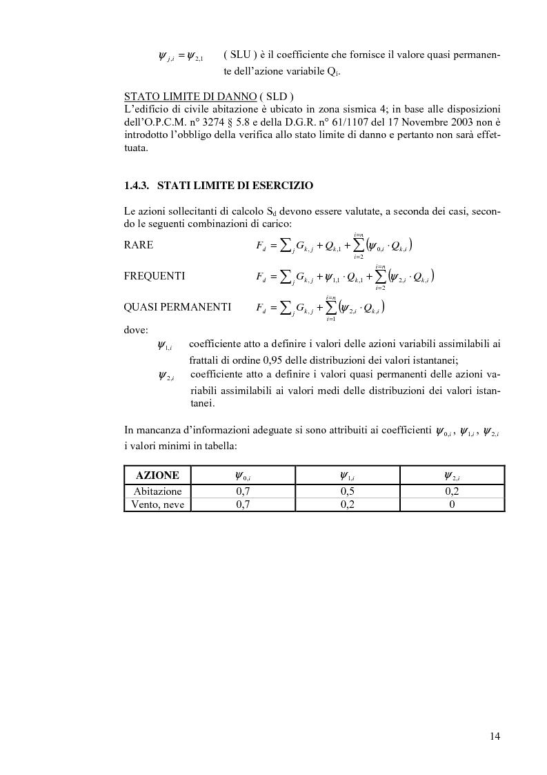 Anteprima della tesi: Calcolo di un edificio multipiano in zona sismica., Pagina 7