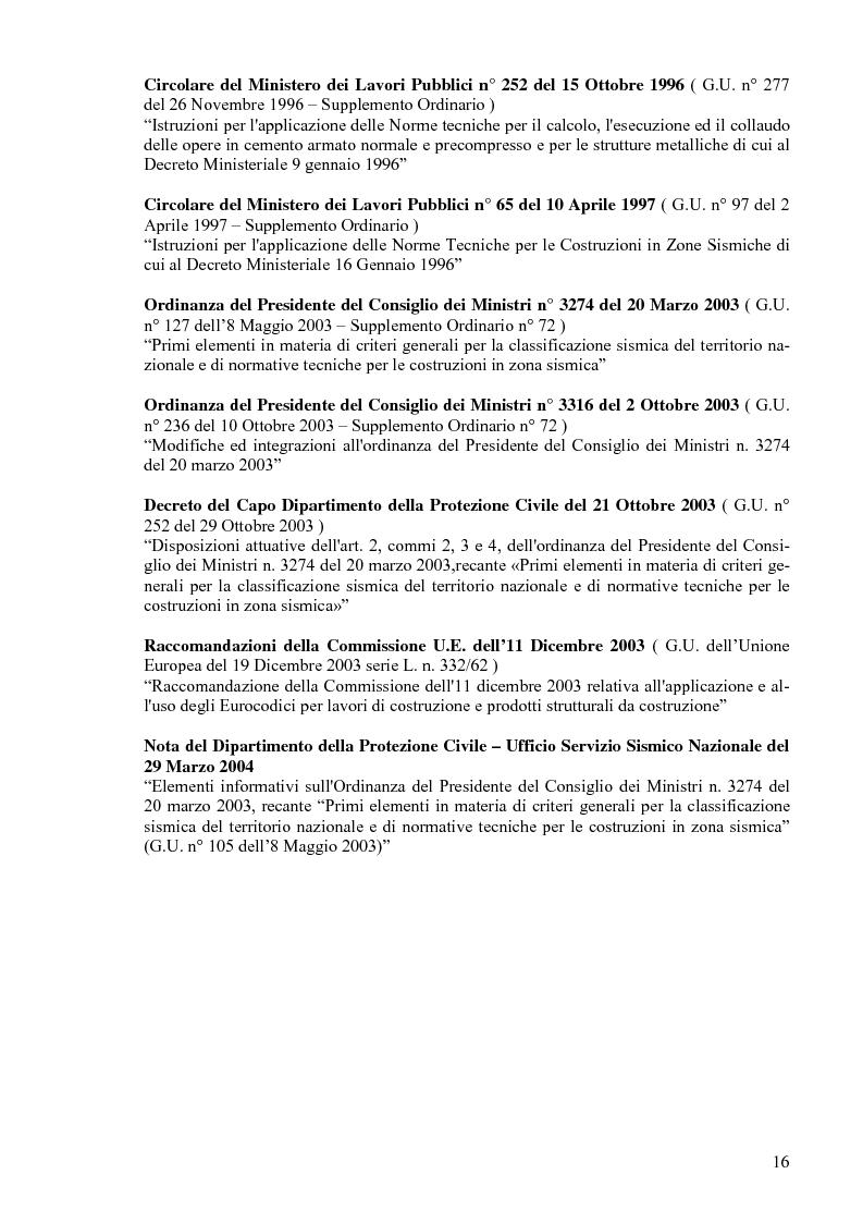 Anteprima della tesi: Calcolo di un edificio multipiano in zona sismica., Pagina 9