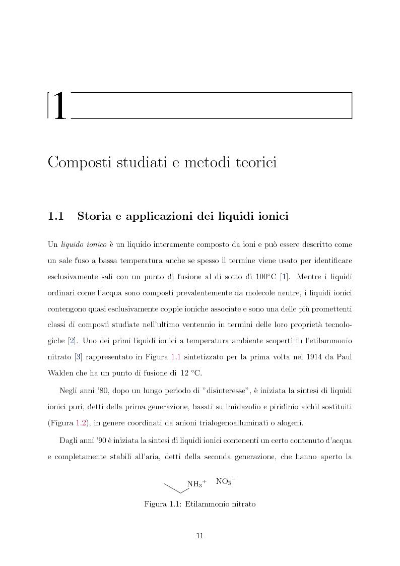 Anteprima della tesi: Caratterizzazione computazionale di alchilammonio cloruri, Pagina 4