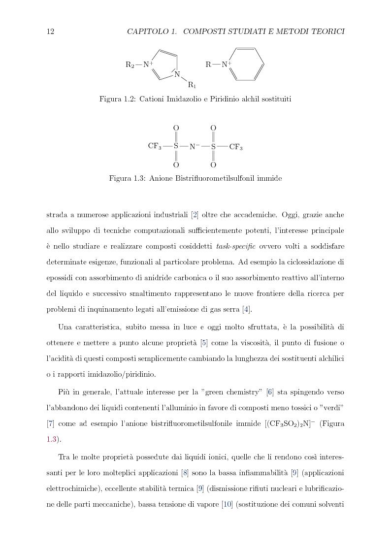 Anteprima della tesi: Caratterizzazione computazionale di alchilammonio cloruri, Pagina 5