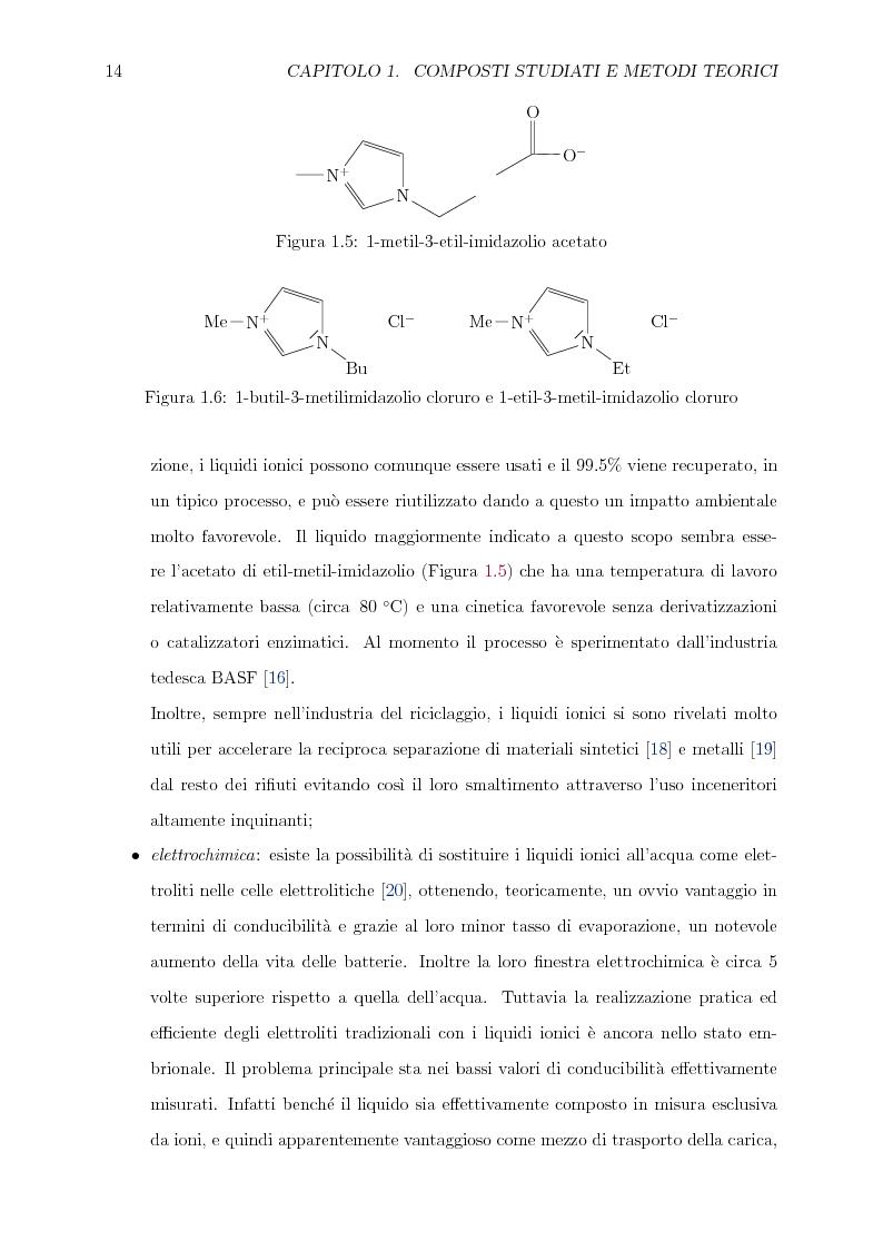 Anteprima della tesi: Caratterizzazione computazionale di alchilammonio cloruri, Pagina 7
