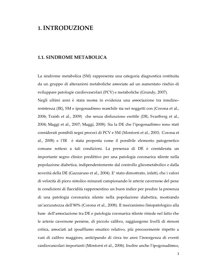 Anteprima della tesi: Effetto di due diversi trattamenti farmacologici sull'alterazione della vescica in un modello animale di Sindrome Metabolica, Pagina 2
