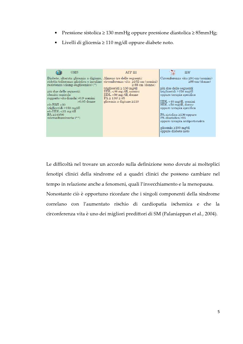 Anteprima della tesi: Effetto di due diversi trattamenti farmacologici sull'alterazione della vescica in un modello animale di Sindrome Metabolica, Pagina 6
