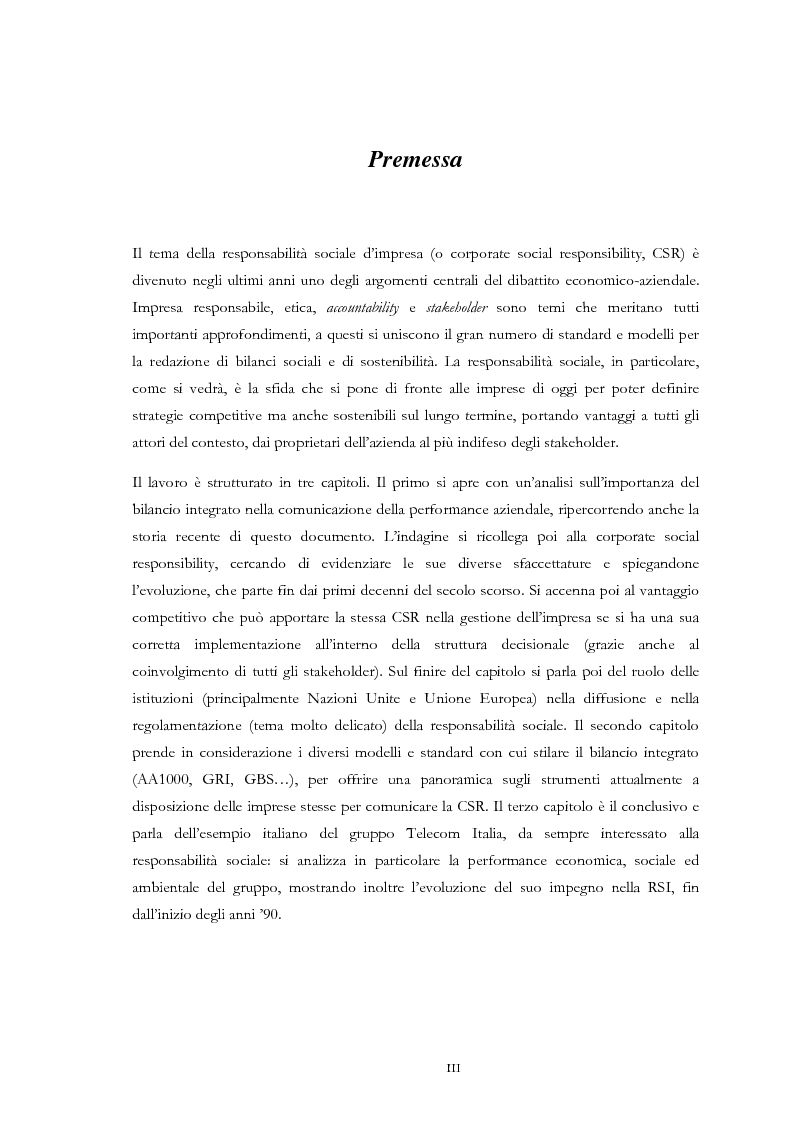 Anteprima della tesi: Dai risultati economico-finanziari ai risultati sociali ed ambientali, Pagina 2