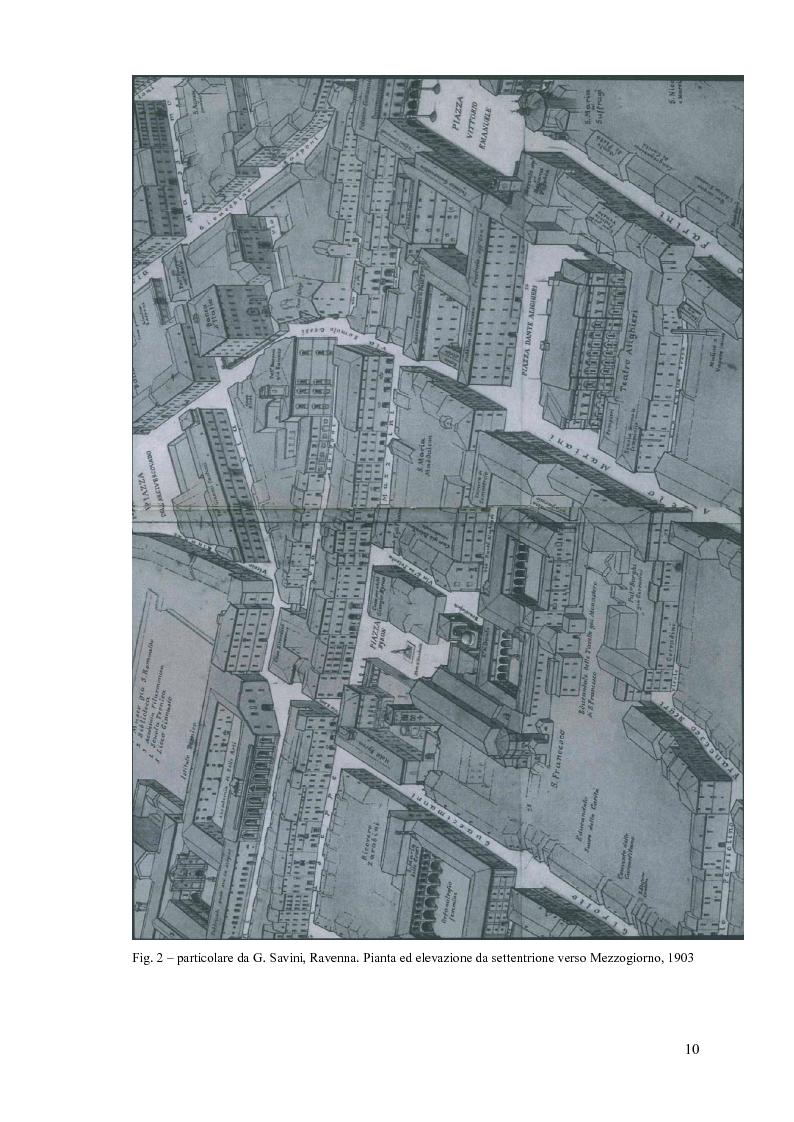 Anteprima della tesi: Cassa di Risparmio di Ravenna, edificio emblematico della cultura unificatrice dell'Italia di fine Ottocento: studio diagnostico dei prospetti, Pagina 10
