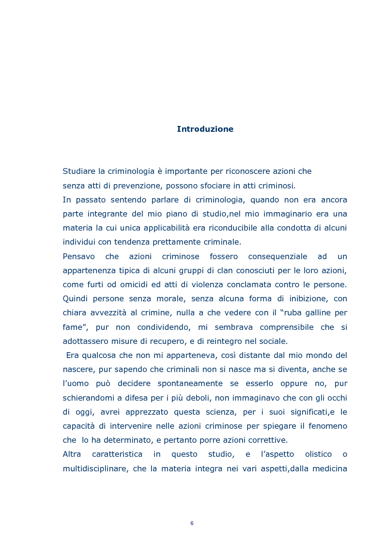 Anteprima della tesi: Stalking, Pagina 2