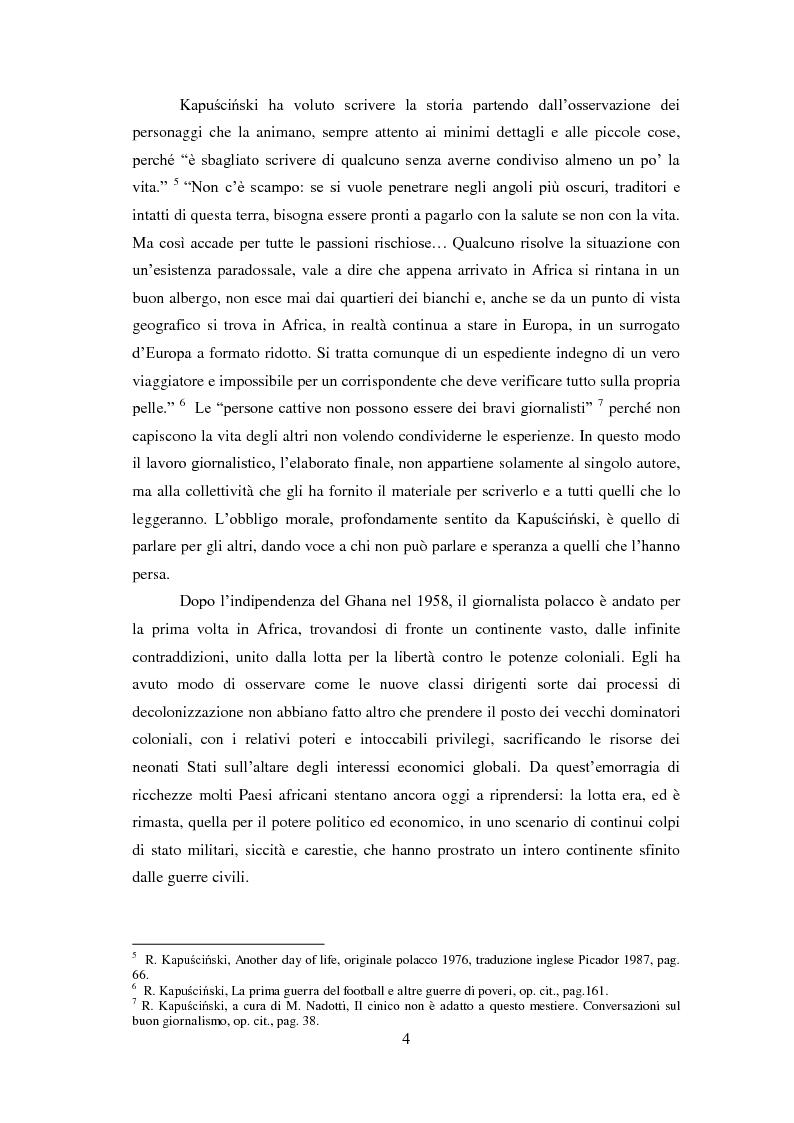 Anteprima della tesi: Giornalisti italiani in Sudan. Storia e drammi nei racconti di Enzo Nucci, Luciano Scalettari, Barbara Schiavulli, Pagina 3