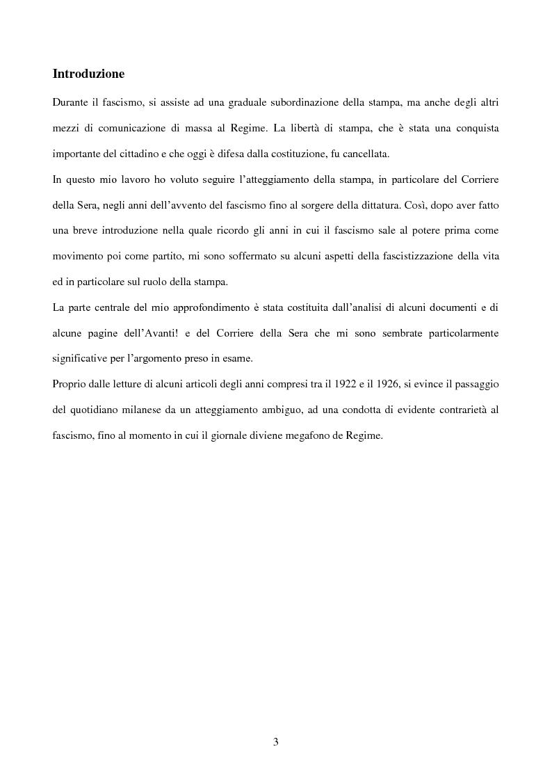 Anteprima della tesi: La stampa durante la dittatura fascista, Pagina 2