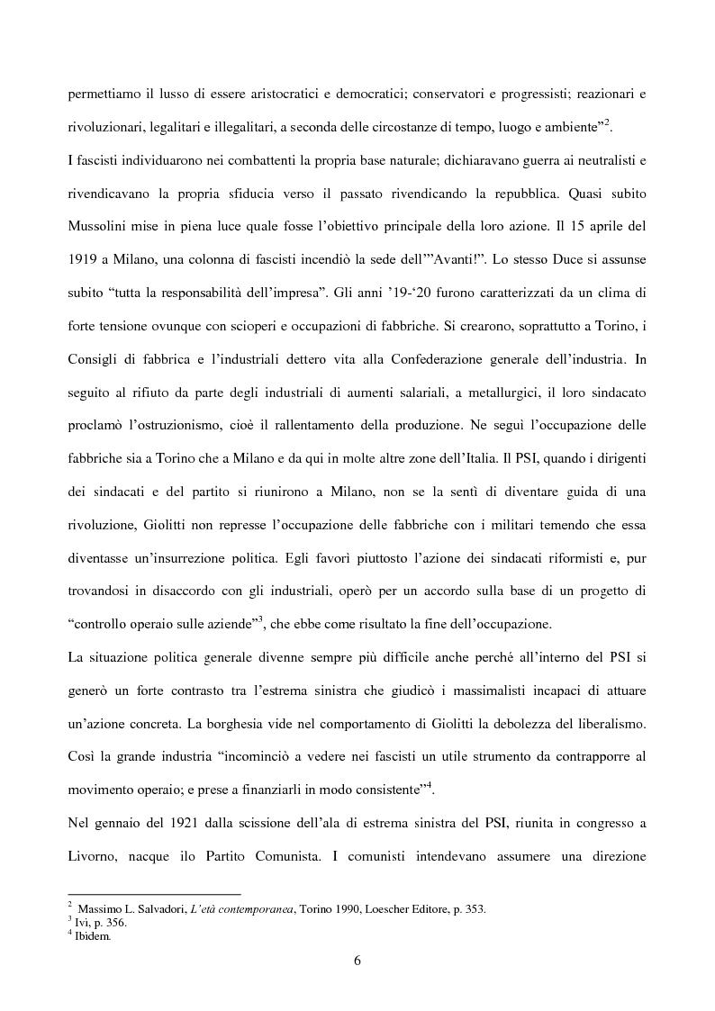 Anteprima della tesi: La stampa durante la dittatura fascista, Pagina 4