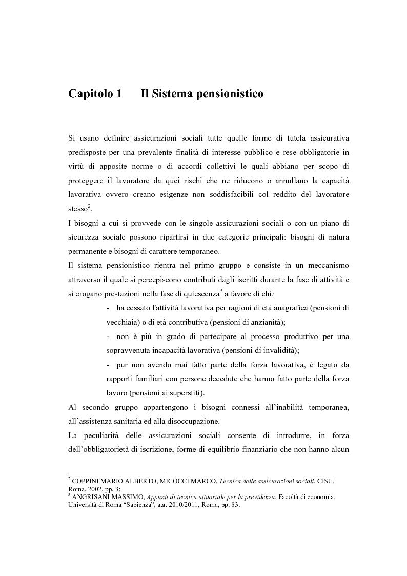 Anteprima della tesi: Il modello a traiettorie individuali esatte e modalità di calcolo delle prestazioni, Pagina 4