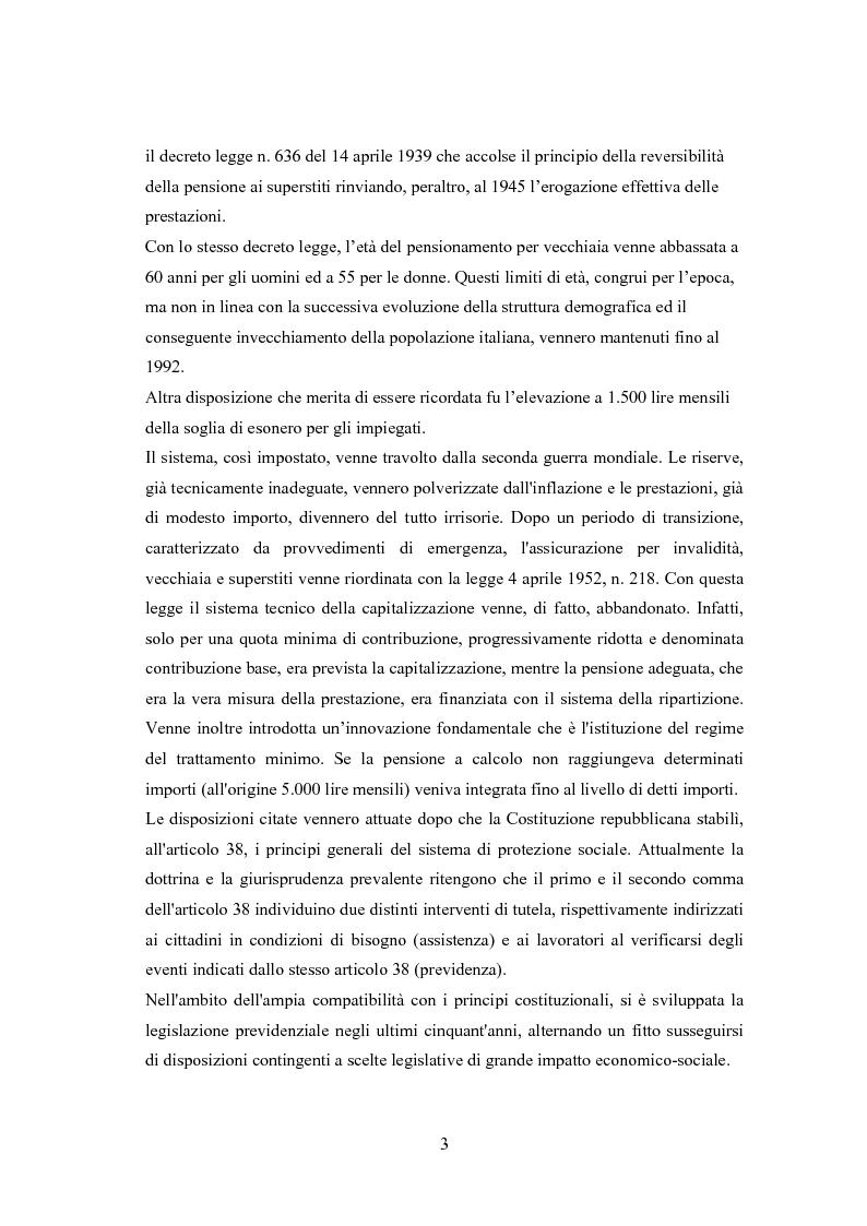 Anteprima della tesi: Il modello a traiettorie individuali esatte e modalità di calcolo delle prestazioni, Pagina 6