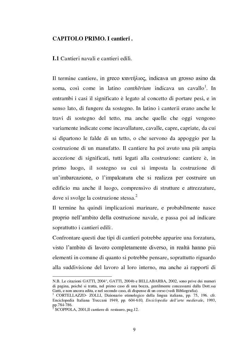 Anteprima della tesi: Il cantiere navale medievale nel Mediterraneo: un problema archeologico, Pagina 10