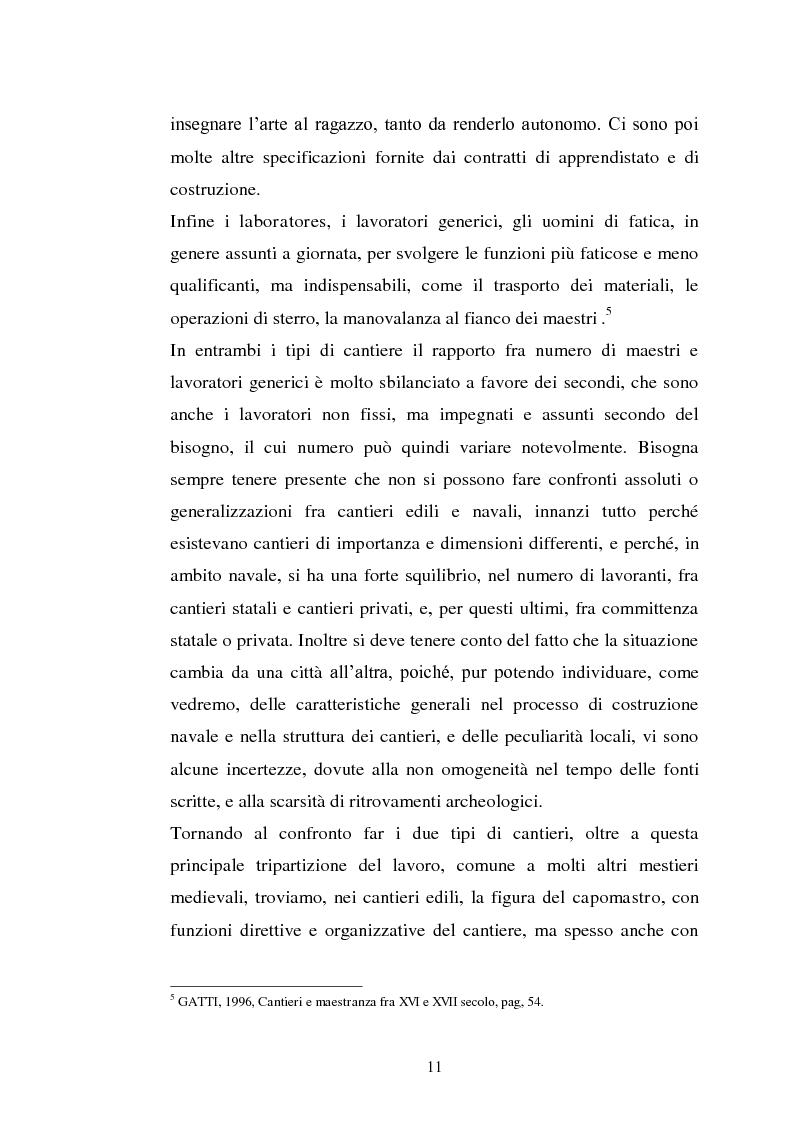 Anteprima della tesi: Il cantiere navale medievale nel Mediterraneo: un problema archeologico, Pagina 12