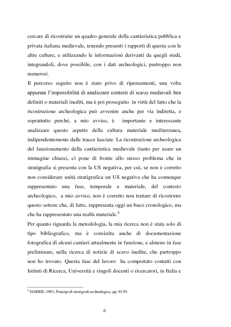 Anteprima della tesi: Il cantiere navale medievale nel Mediterraneo: un problema archeologico, Pagina 7