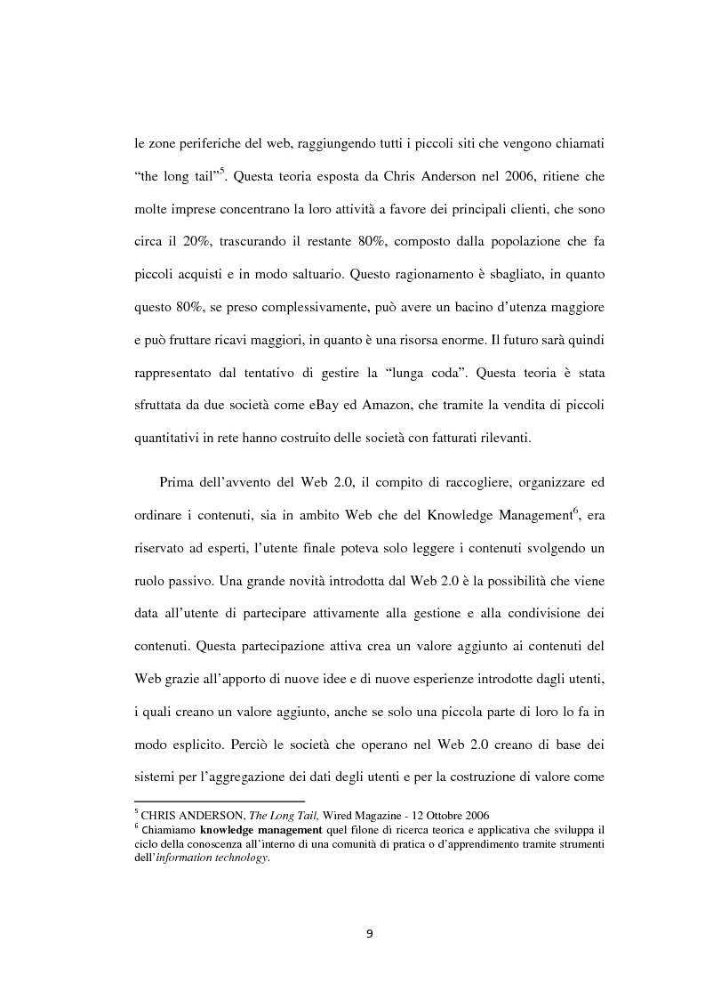 Anteprima della tesi: Approcci ''Open'' e ''User-led'': il ruolo delle tecnologie Web, Pagina 10