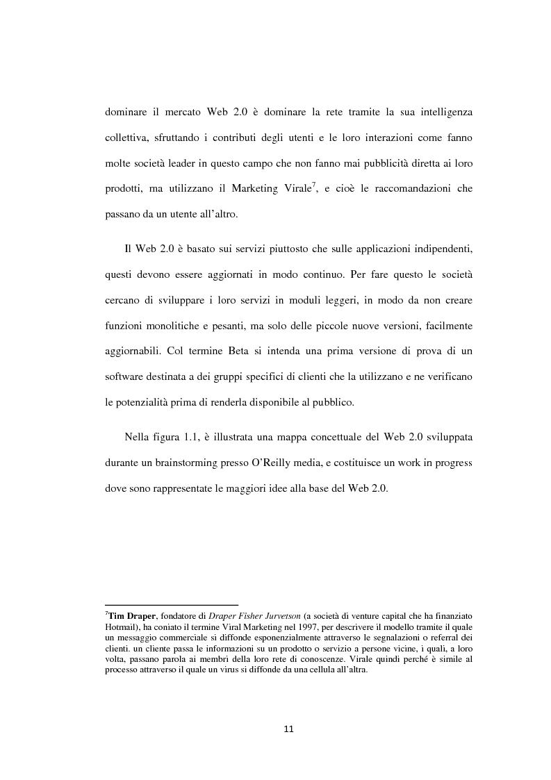 Anteprima della tesi: Approcci ''Open'' e ''User-led'': il ruolo delle tecnologie Web, Pagina 12