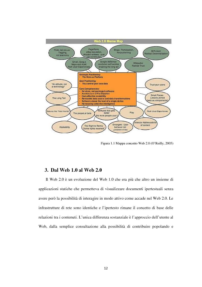 Anteprima della tesi: Approcci ''Open'' e ''User-led'': il ruolo delle tecnologie Web, Pagina 13