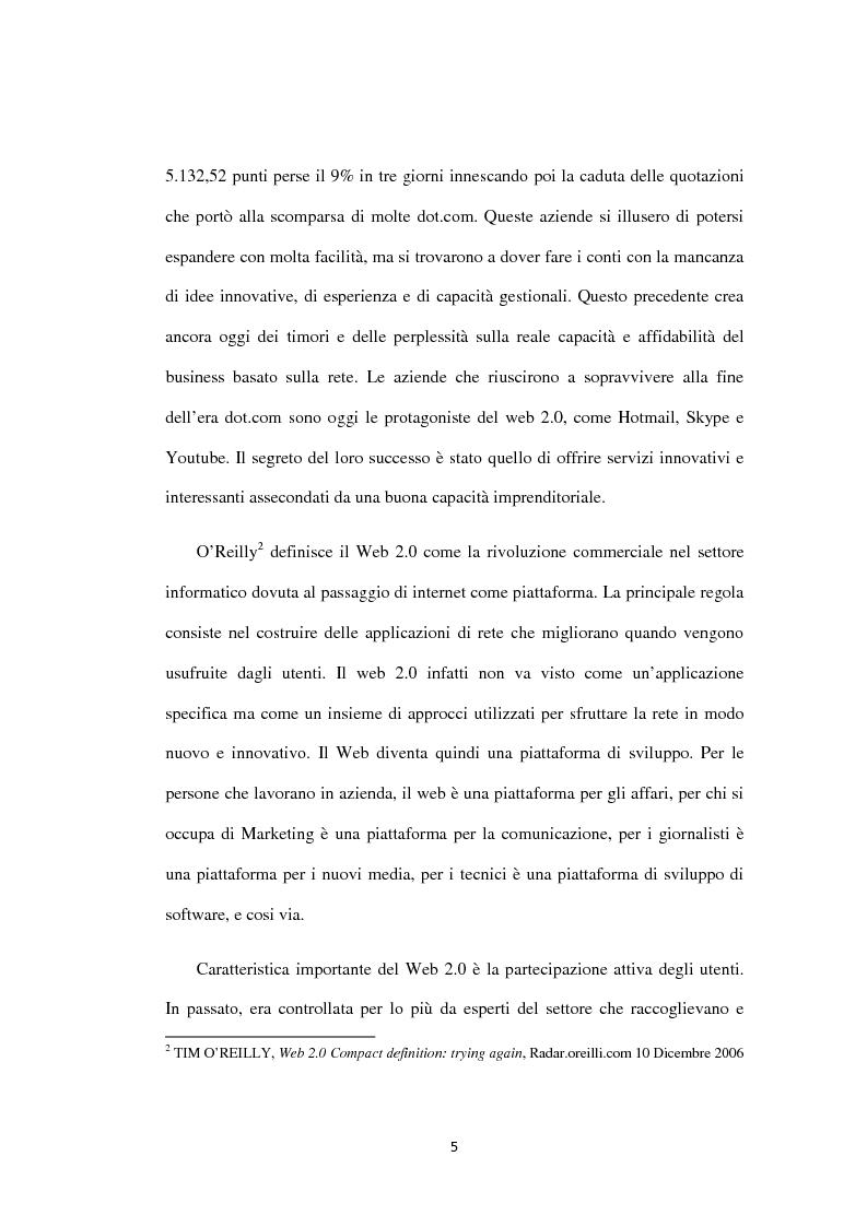Anteprima della tesi: Approcci ''Open'' e ''User-led'': il ruolo delle tecnologie Web, Pagina 6