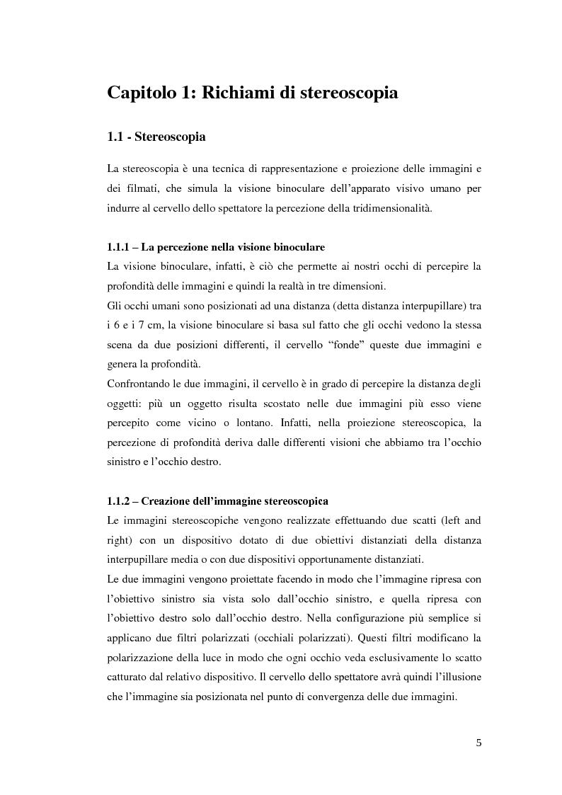 Anteprima della tesi: Analisi e compressione adattiva di immagini stereoscopiche in formato MPO, Pagina 3