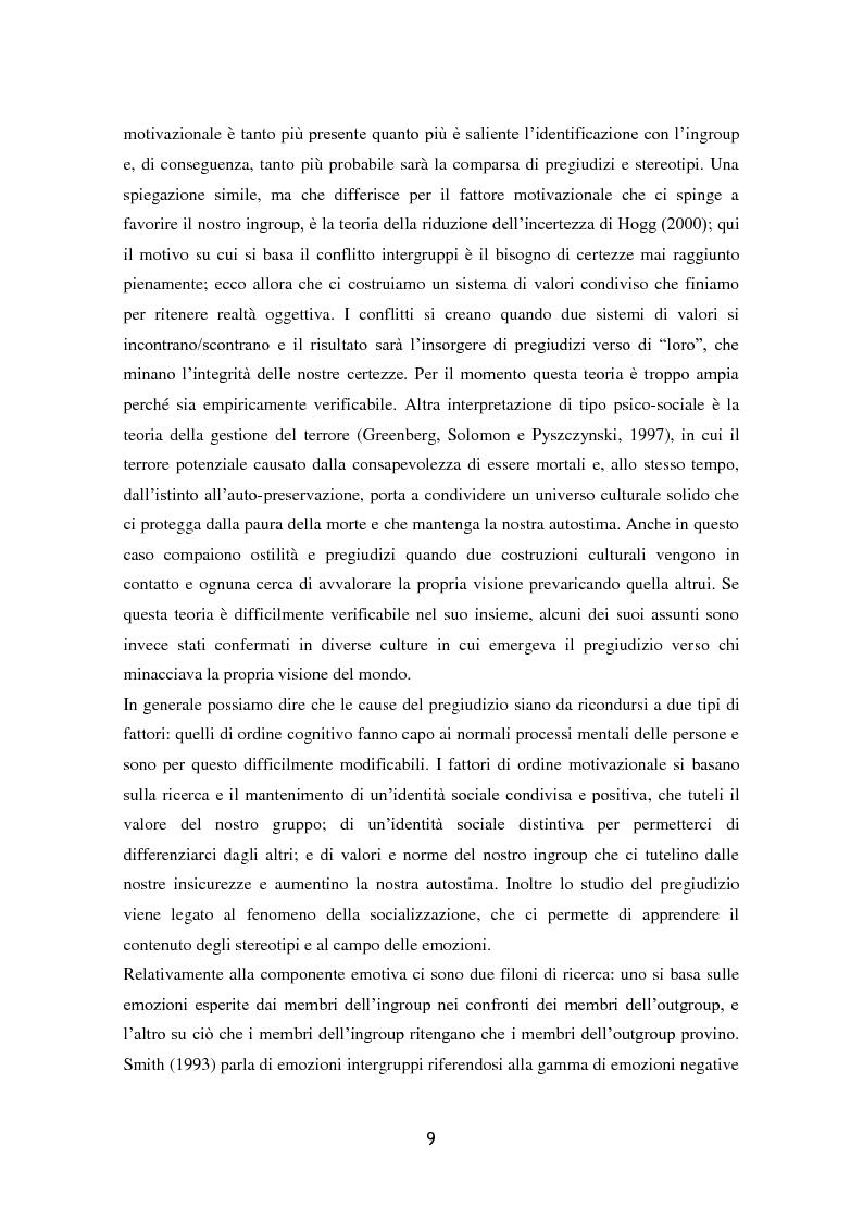 Anteprima della tesi: L'influenza dell'attaccamento su empatia, atteggiamenti e propensione all'aiuto, Pagina 10