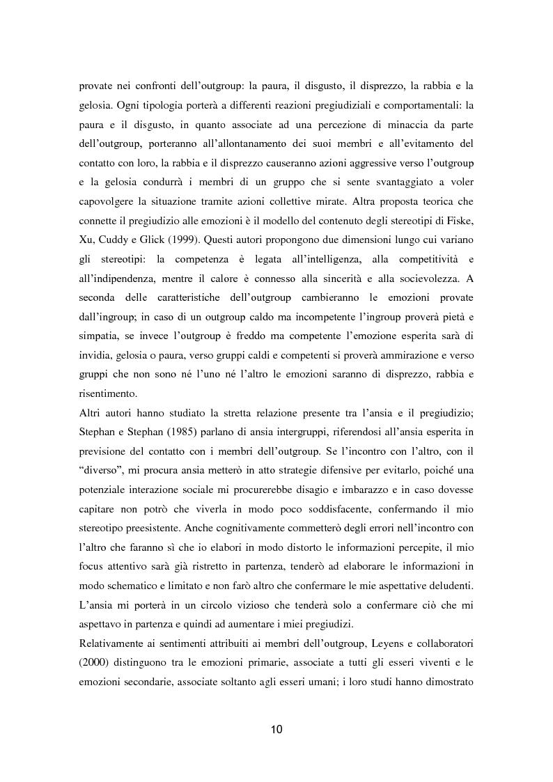 Anteprima della tesi: L'influenza dell'attaccamento su empatia, atteggiamenti e propensione all'aiuto, Pagina 11