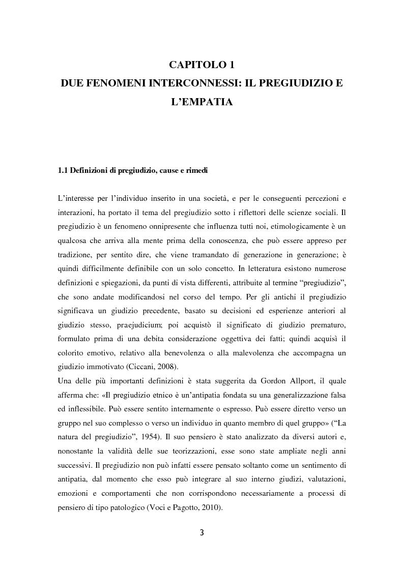 Anteprima della tesi: L'influenza dell'attaccamento su empatia, atteggiamenti e propensione all'aiuto, Pagina 4