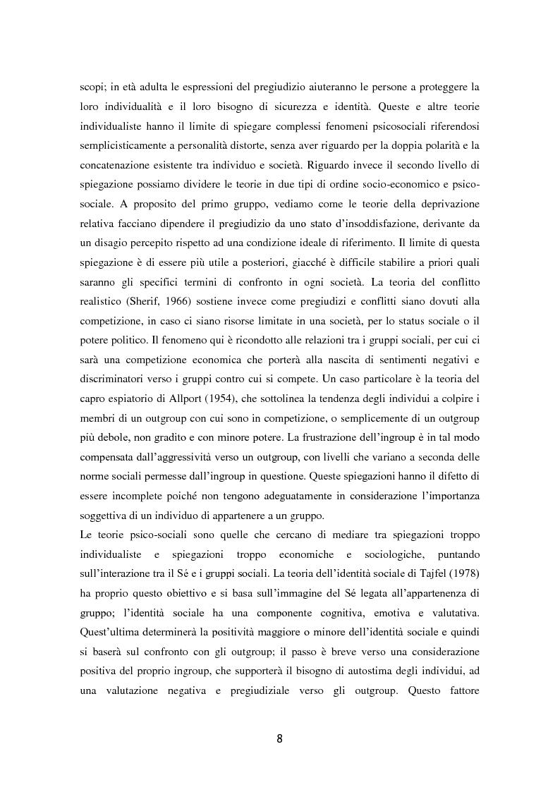 Anteprima della tesi: L'influenza dell'attaccamento su empatia, atteggiamenti e propensione all'aiuto, Pagina 9