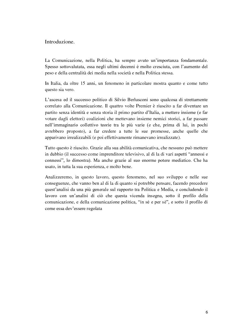 Anteprima della tesi: Politica e Comunicazione: Il caso del sig. B, Pagina 2