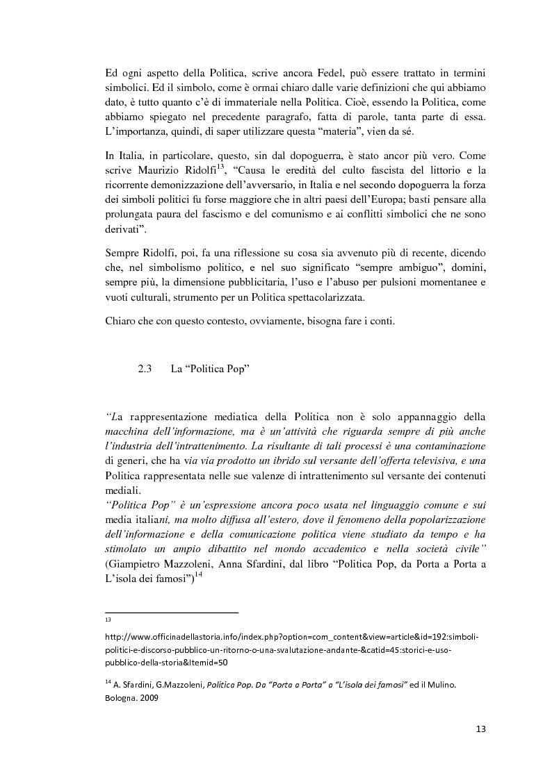 Anteprima della tesi: Politica e Comunicazione: Il caso del sig. B, Pagina 9