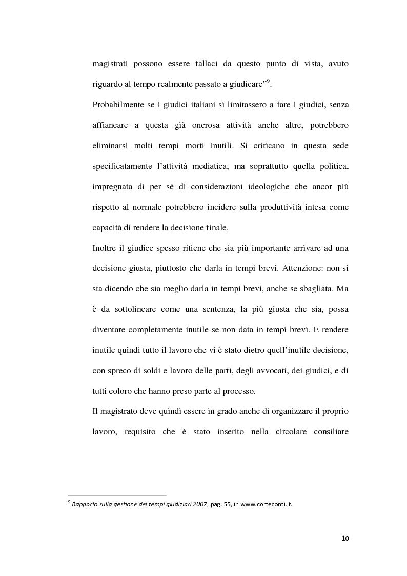 Anteprima della tesi: La durata irragionevole del processo civile italiano, Pagina 11