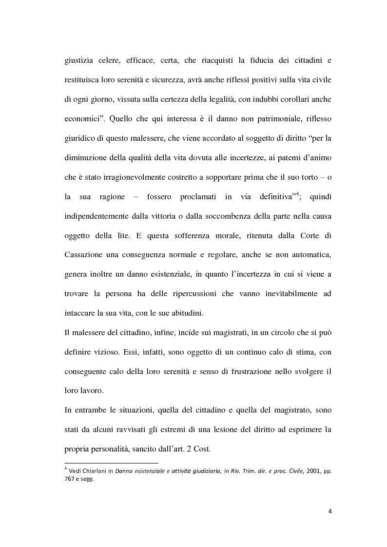 Anteprima della tesi: La durata irragionevole del processo civile italiano, Pagina 5