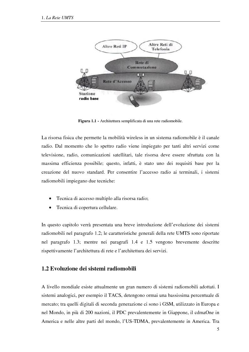 Anteprima della tesi: Proposta di una tecnica adattiva di gestione delle risorse per reti cellulari UMTS/HSPA, Pagina 6