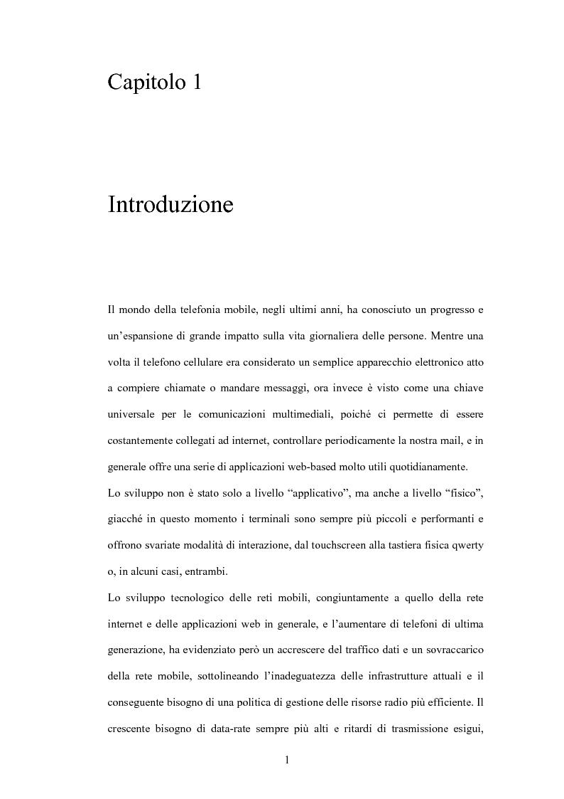 Anteprima della tesi: Valutazione di tecniche di allocazione di risorse in reti cellulari di quarta generazione, Pagina 2