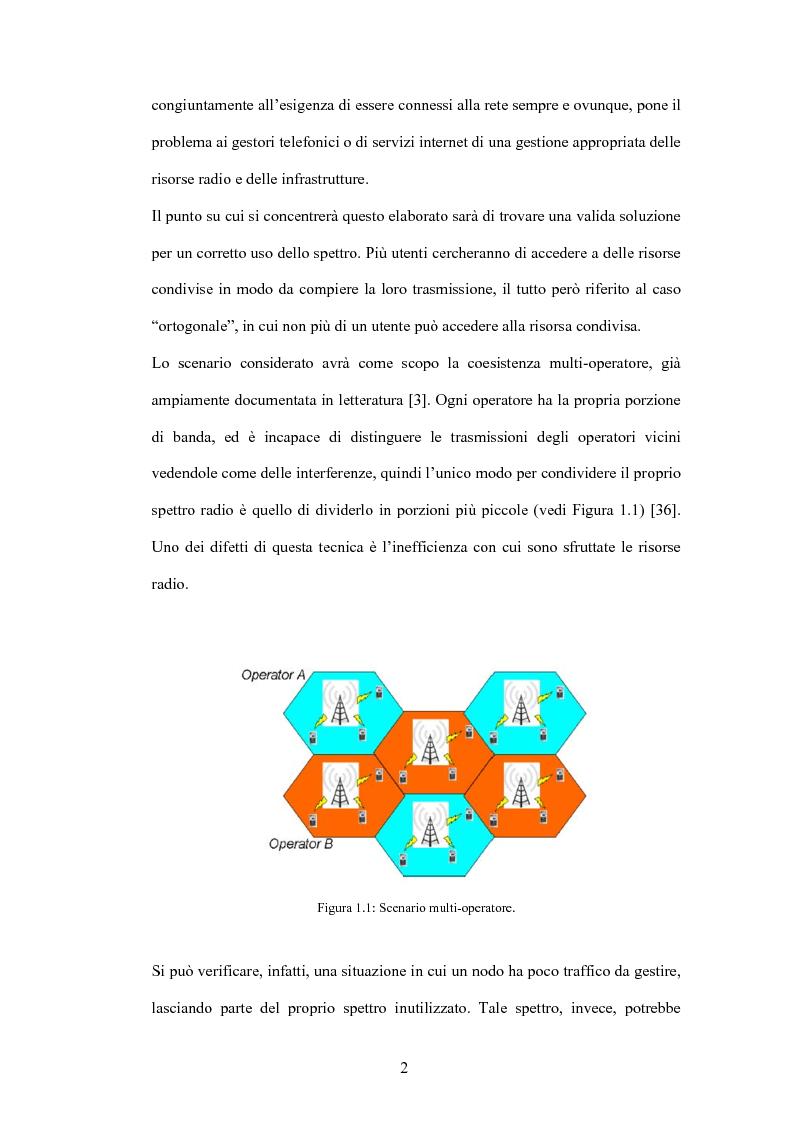 Anteprima della tesi: Valutazione di tecniche di allocazione di risorse in reti cellulari di quarta generazione, Pagina 3