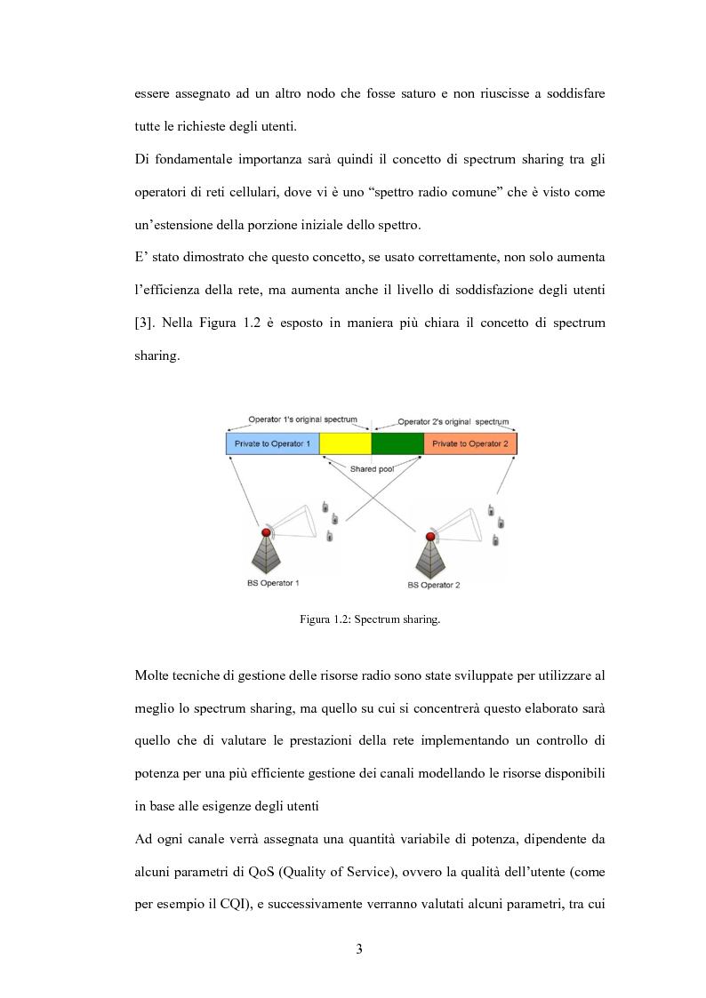 Anteprima della tesi: Valutazione di tecniche di allocazione di risorse in reti cellulari di quarta generazione, Pagina 4