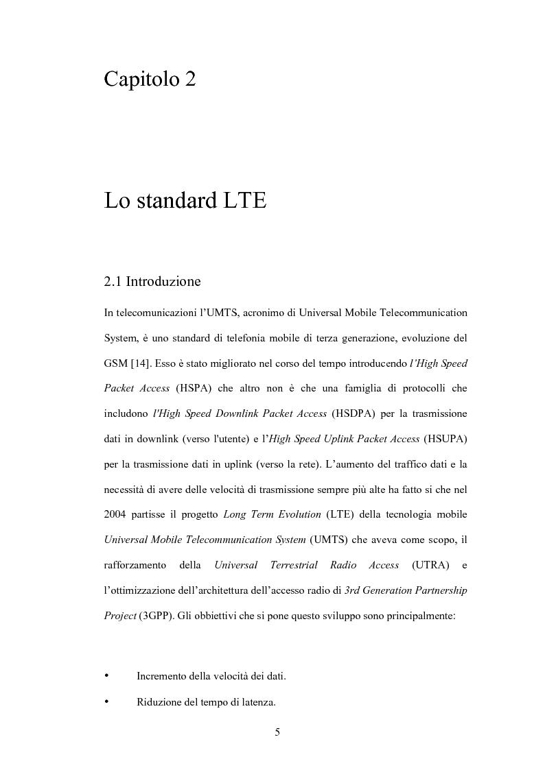 Anteprima della tesi: Valutazione di tecniche di allocazione di risorse in reti cellulari di quarta generazione, Pagina 6