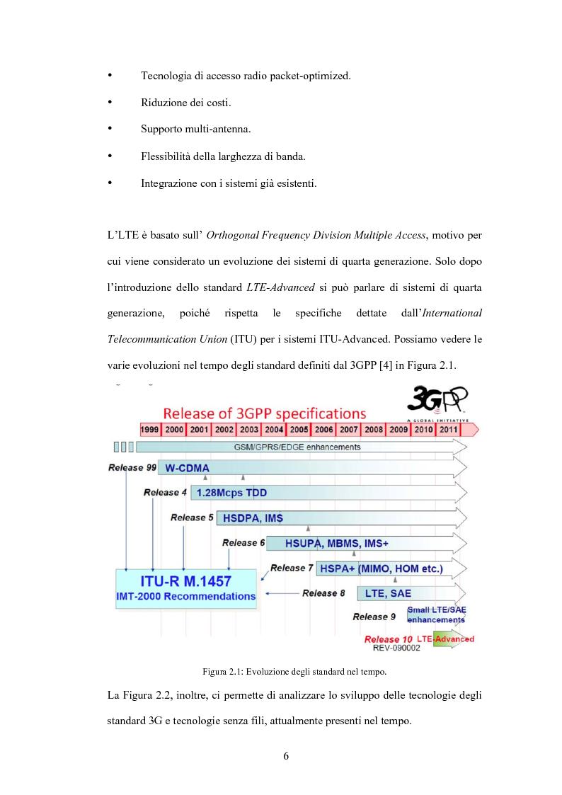 Anteprima della tesi: Valutazione di tecniche di allocazione di risorse in reti cellulari di quarta generazione, Pagina 7