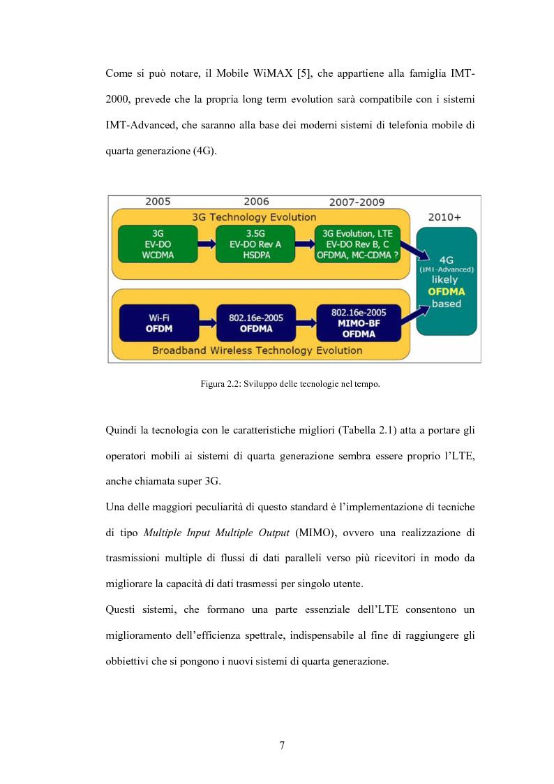 Anteprima della tesi: Valutazione di tecniche di allocazione di risorse in reti cellulari di quarta generazione, Pagina 8