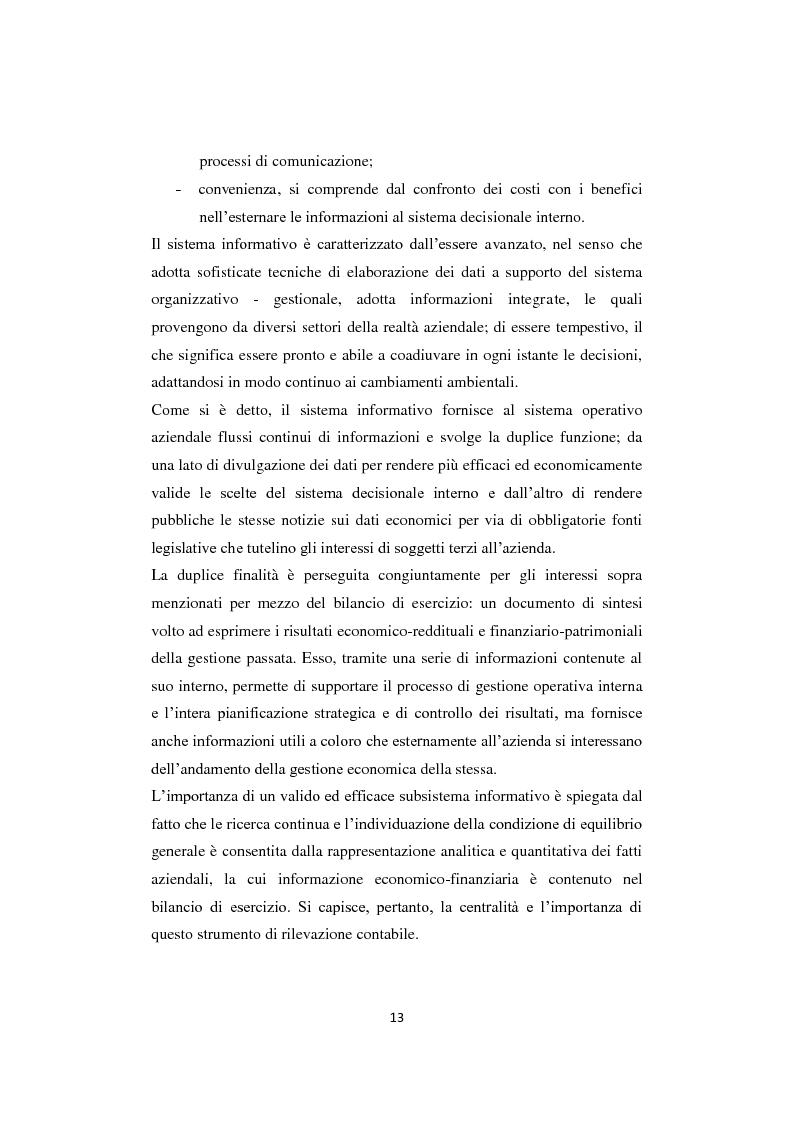 Anteprima della tesi: Gli equilibri nelle aziende turistiche: il caso delle imprese ricettive-alberghiere e dei tour operators, Pagina 10