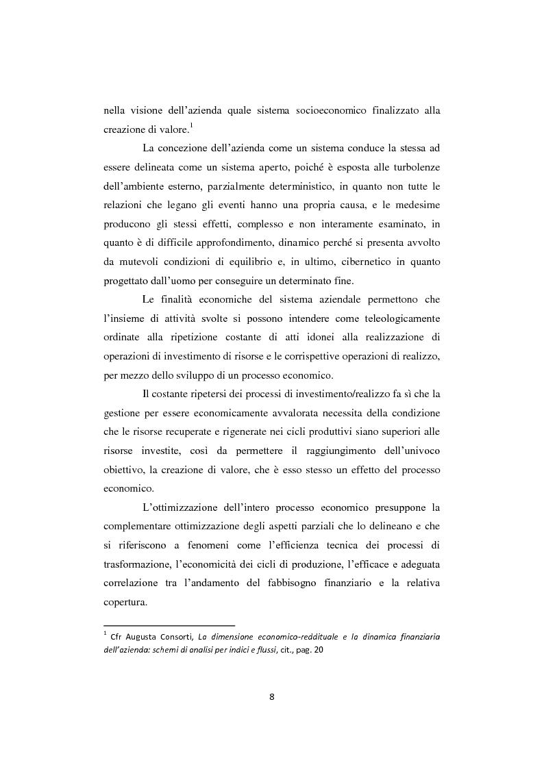 Anteprima della tesi: Gli equilibri nelle aziende turistiche: il caso delle imprese ricettive-alberghiere e dei tour operators, Pagina 5