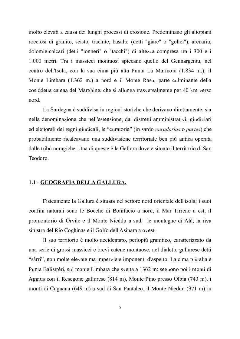 Anteprima della tesi: Viabilità romana nella Gallura sud-orientale, Pagina 3