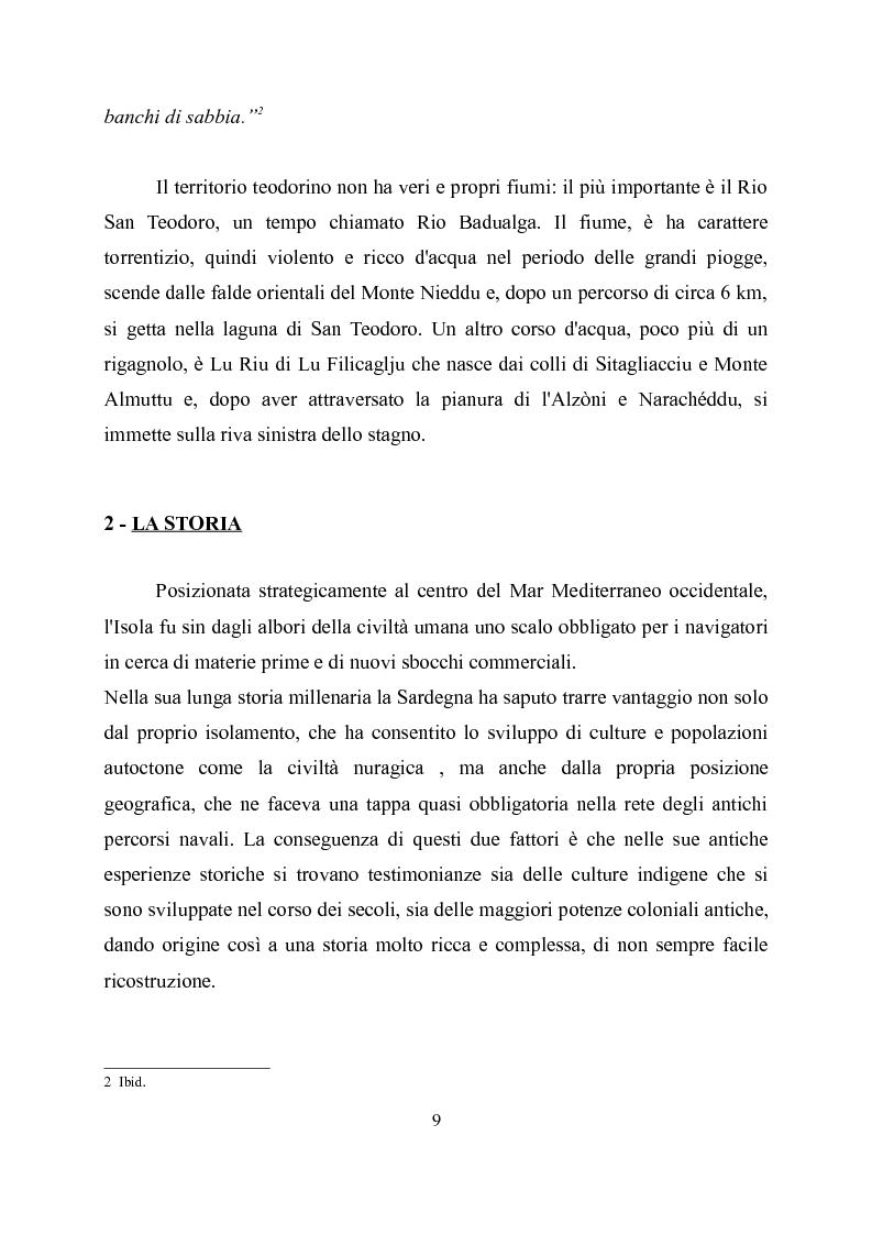 Anteprima della tesi: Viabilità romana nella Gallura sud-orientale, Pagina 7