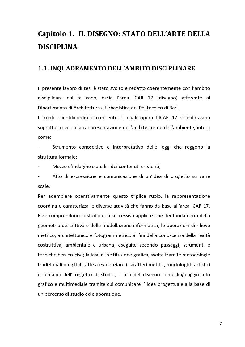 Anteprima della tesi: Il Disegno Intelligente: conoscere, interpretare, trasformare - Percorsi e visioni nel centro storico di Maglie (LE), Pagina 2