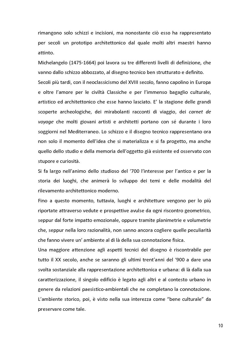 Anteprima della tesi: Il Disegno Intelligente: conoscere, interpretare, trasformare - Percorsi e visioni nel centro storico di Maglie (LE), Pagina 5