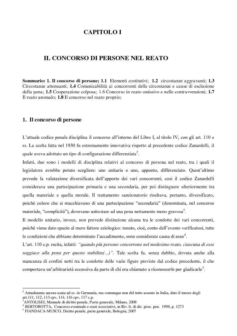 Anteprima della tesi: Il concorso esterno nell'associazione mafiosa: origini, ipotesi criminologiche e aspetti di attualità., Pagina 5