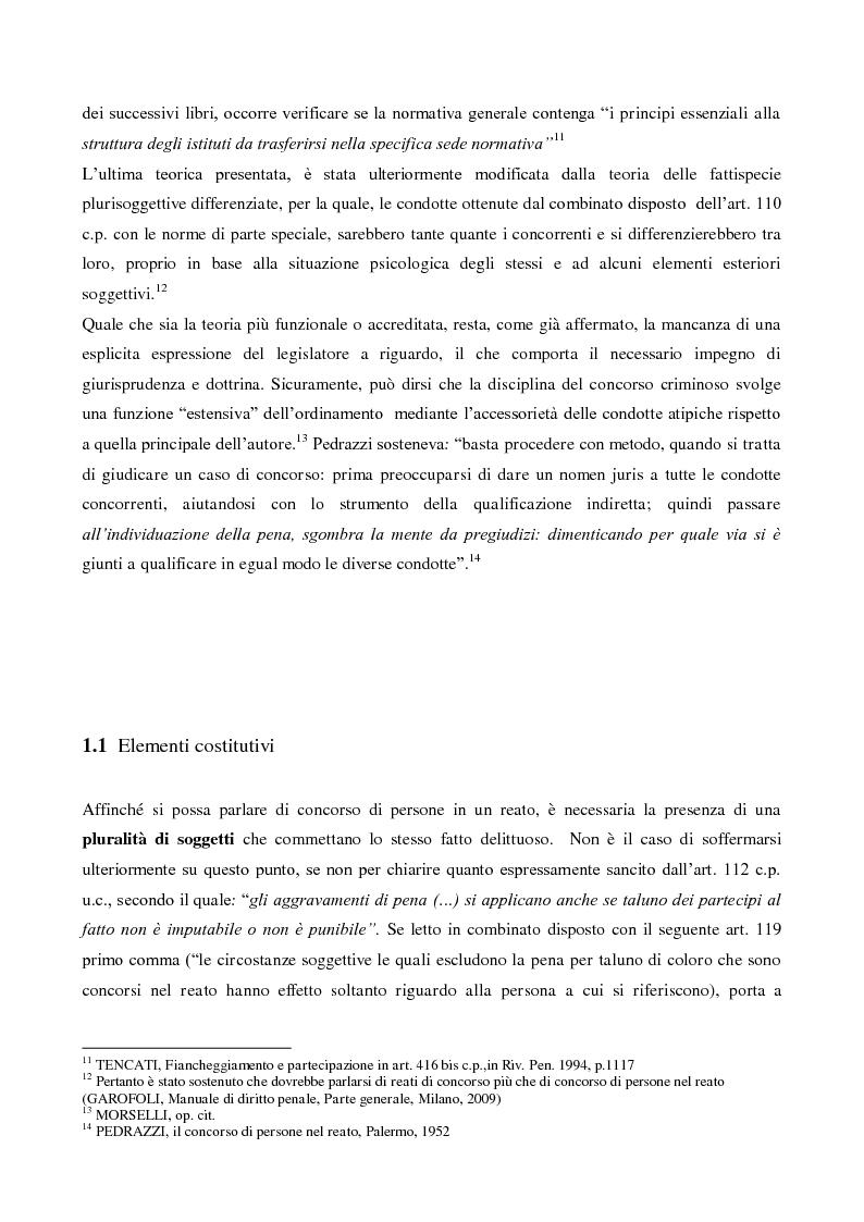 Anteprima della tesi: Il concorso esterno nell'associazione mafiosa: origini, ipotesi criminologiche e aspetti di attualità., Pagina 7